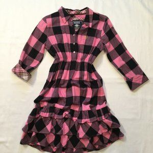 victoria's secret pink flannel dress